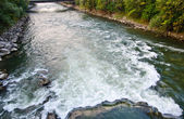 Motion of river — Stock Photo