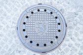 井盖在格拉茨,奥地利 — 图库照片