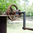 Old style pulley — Stock Photo