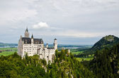Neuschwanstein castle in Bavaria, Germany — Stock Photo