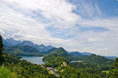 Landscape of Bavarian Alps in Germany — Stock Photo
