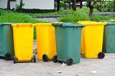 Contenedores de basura — Foto de Stock