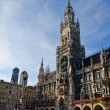 New town hall in Munich, Germany — Stock Photo #16019943