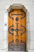 Door in Neuschwanstein Castle, Germany — Stock Photo