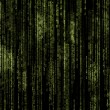 Green matrix background  — Stock Photo