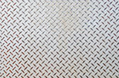 Seamless steel diamond plate texture — Stock Photo