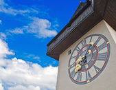 Clock tower in Graz — Stock Photo