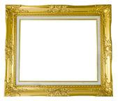 Antyczny złoty stelaż — Zdjęcie stockowe