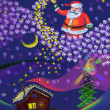 Foto Stock: Christmas and New Year, SantClaus