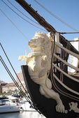 Galleon close up — Stock Photo