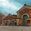 Old pump house in Belfast — Stock Photo