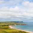 White Park Bay in Antrim Northern Ireland — Stock Photo