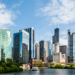 West Wacker Drive Skyline — Stock Photo #19138521