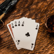 Royalty-Free Stock Photo: Wild Bill Dead Mans Hand