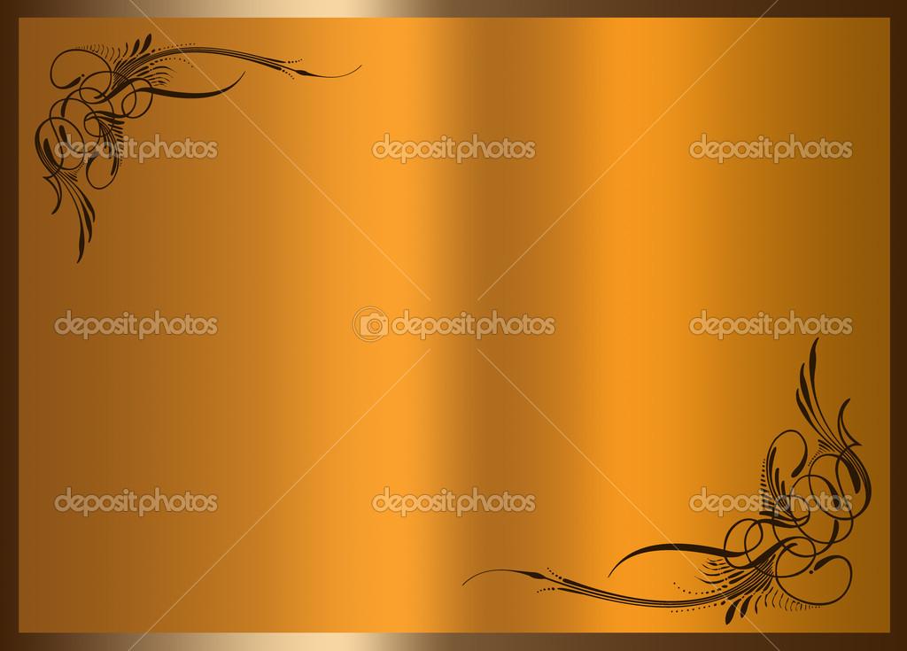 抽象边框框架背景 — 图库照片