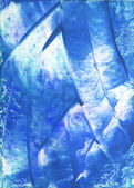 Abstract hand drawn paint background: blue and white Christmas-like pattern — Stock Photo
