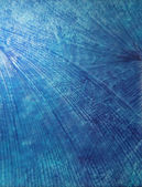 Abstract hand drawn paint background: blue sky-like or water-like patterns — Stock Photo