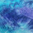 Stock Photo: Abstract hand drawn paint background: blue sky-like or water-like patterns