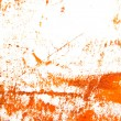 Royalty-Free Stock Photo: Abstract hand drawn painting / graphics: orange and brown patterns on white