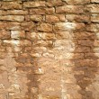 Old, ragged brick wall texture — Stock Photo