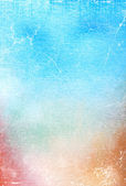 Abstract textured background: blue, brown, and red patterns — Stock Photo