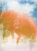 Abstract textured background: orange, blue, and white patterns — Stock Photo