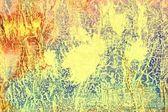 абстрактный текстурированный фон: красный, синий и желтый шаблоны — Стоковое фото
