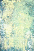 Abstract textured background: white and yellow patterns on blue backdrop — Stok fotoğraf