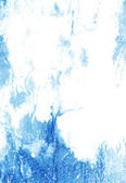 Abstract textured background: blue patterns on white backdrop — 图库照片