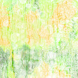 Foto Stock: Abstract textured background: green, red, and white patterns on summer-themed backdrop