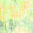 Foto de Stock  : Abstract textured background: green, red, and white patterns on summer-themed backdrop