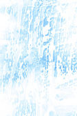 Abstract textured background: white frost-like patterns on blue backdrop — Stock Photo