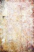 Grain paint yellow / magenta wall background or vintage texture — Foto Stock