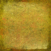 Abstract yellow and brown background or paper with grunge texture — Stock Photo