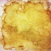 Abstrakt gul och brun bakgrund eller papper med grunge strukturer — Stockfoto