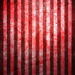 Abstract red background or paper with grunge texture and white stripes. For vintage layout design of colorful graphic art or border frame — Stock Photo