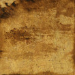 Abstract yellow and brown colorful background or paper with grunge texture — Stock Photo