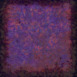 Highly detailed blue and purple grunge background or paper with vintage texture — Stock Photo