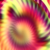 Orange and purple abstract futuristic background — Stock Photo