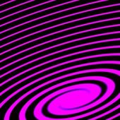 Purple and black spiral abstract futuristic background — Stock Photo