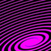 Paarse en zwarte spiraal abstracte futuristische achtergrond — Stockfoto
