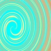 Blue spiral abstract futuristic background — Stock Photo