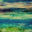 Royalty-Free Stock Photo: Abstract impressionist-style background with grunge texture