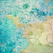 Old grunge background with delicate abstract texture — Stock Photo