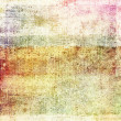 Old grunge background with delicate abstract canvas — Foto Stock