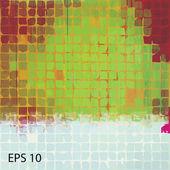 Grunge vintage background. EPS10 vector — Stock Vector