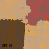 Abstract grunge scratched texture. EPS10 vector — Stockvektor