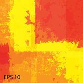 Grunge retro vintage textur, vektor-hintergrund — Stockvektor