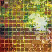 Grunge retro vintage texture, vector background — Vector de stock