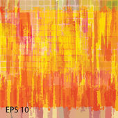 Abstract grunge scratched texture. EPS10 vector — Cтоковый вектор